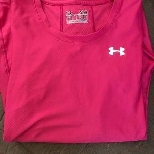 Long sleeve Under Armour Dri-Wick Workout Shirt